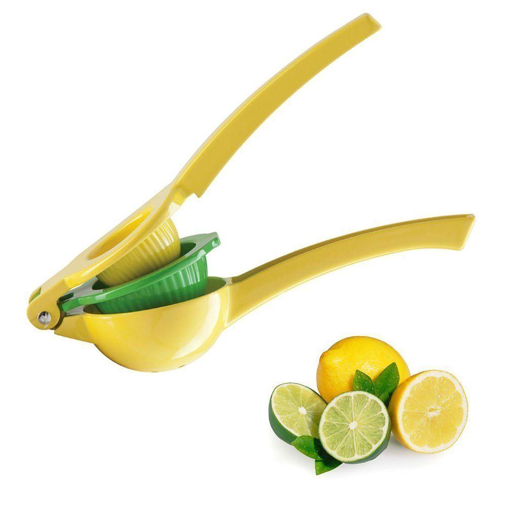 Amazon.com: Top Rated Zulay Premium Quality Metal Lemon Lime Squeezer - Manual Citrus Juice Press: Kitchen & Dining