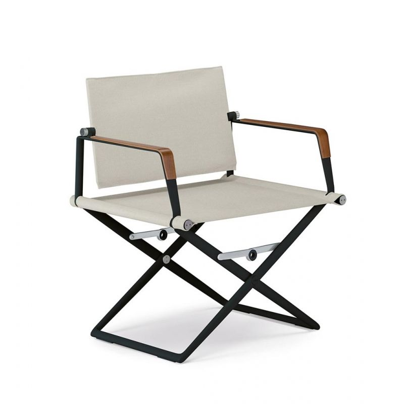 Dedon Seax Sessel Klappbar Textil Furniture Chair Exclusive Furniture