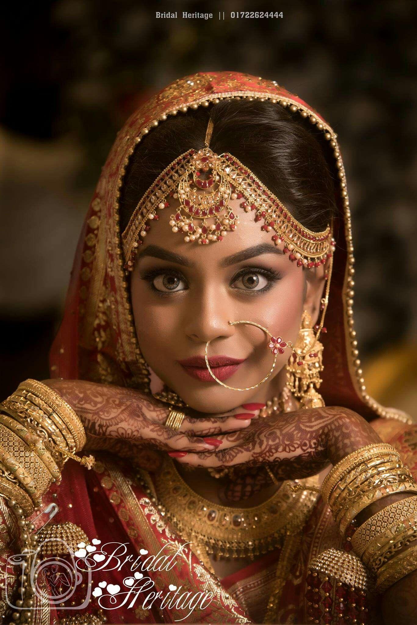 Pinterest: @shikachand Indian bride, beautiful lhengas ...