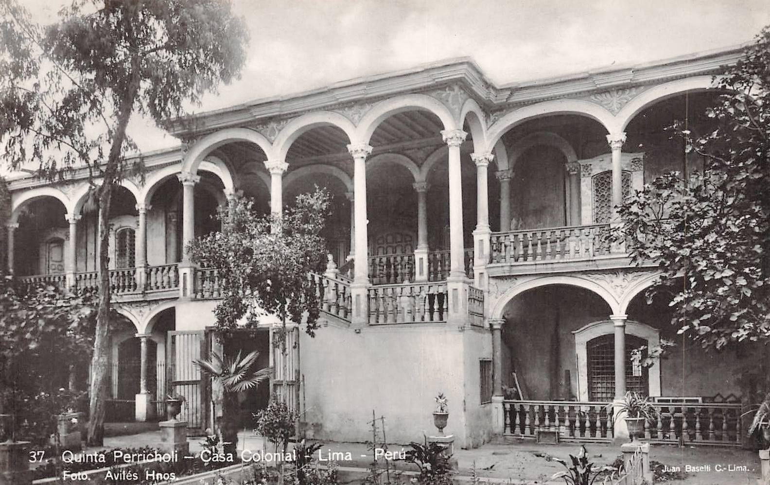 Resultado de imagen para Quintas en la Lima antigua