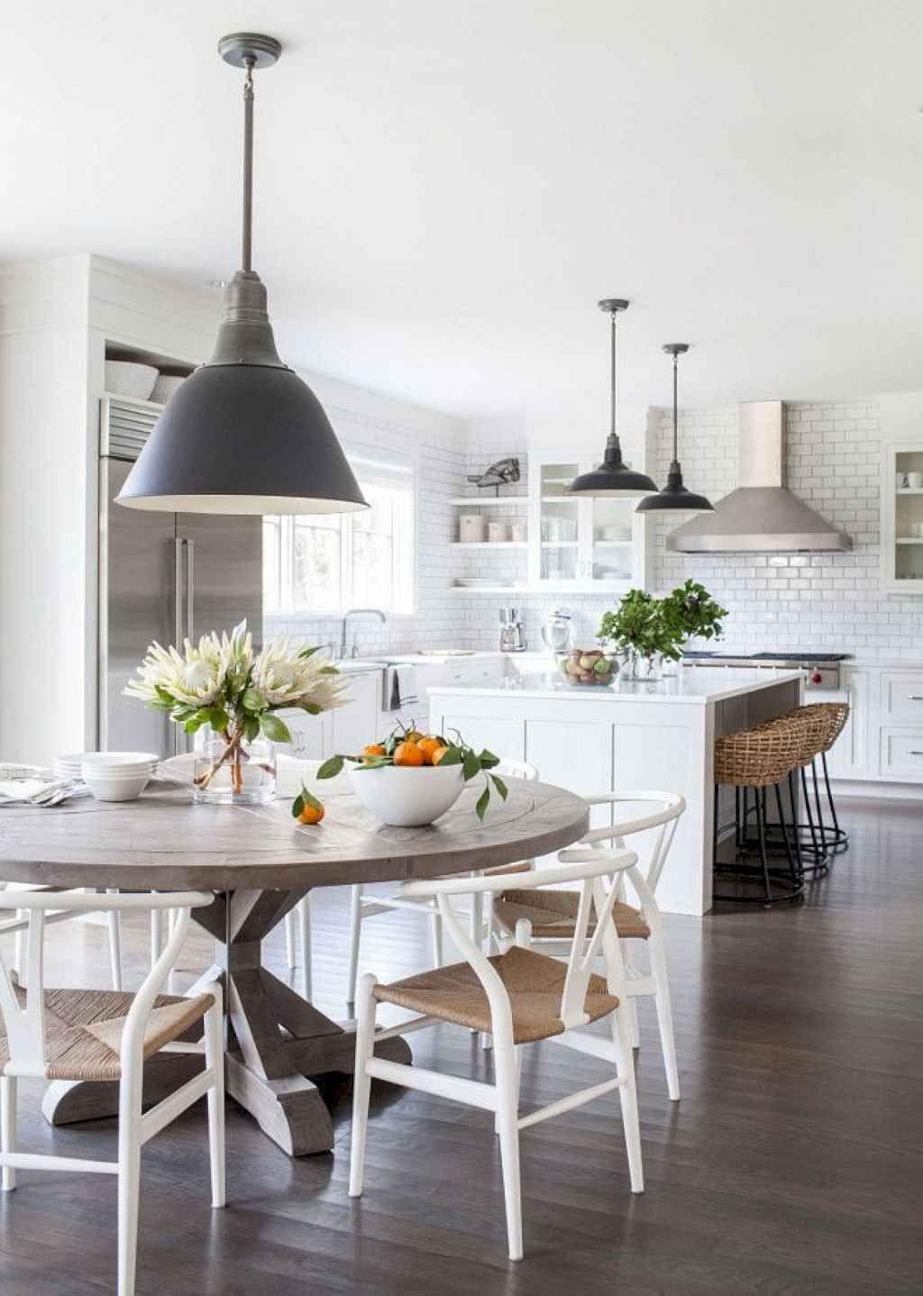 9 Beautiful Farmhouse Dining Room Table Design Ideas ...