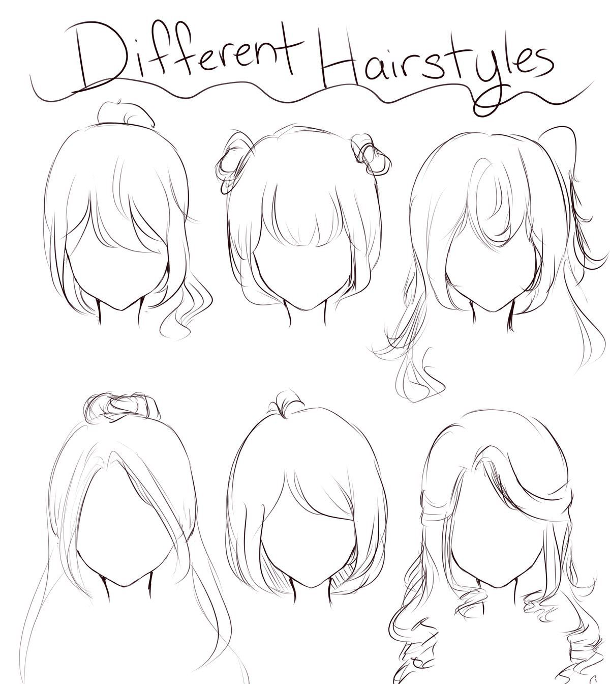 Pin By Rinneyuuki On Learn In 2020 Anime Drawings Sketches Anime Drawings Tutorials Hair Sketch