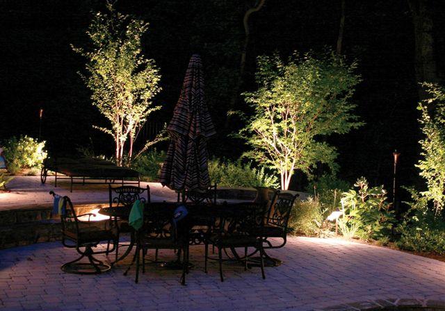 Terrasse d\u0027extérieur au luminaire jardin Luminaire extérieur pour