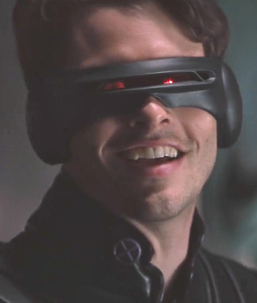 Marvel In Film N 7 2000 James Marsden As Scott Summers Cyclops X Men By Bryan Singer Bryan Singer Cyclops X Men X Men