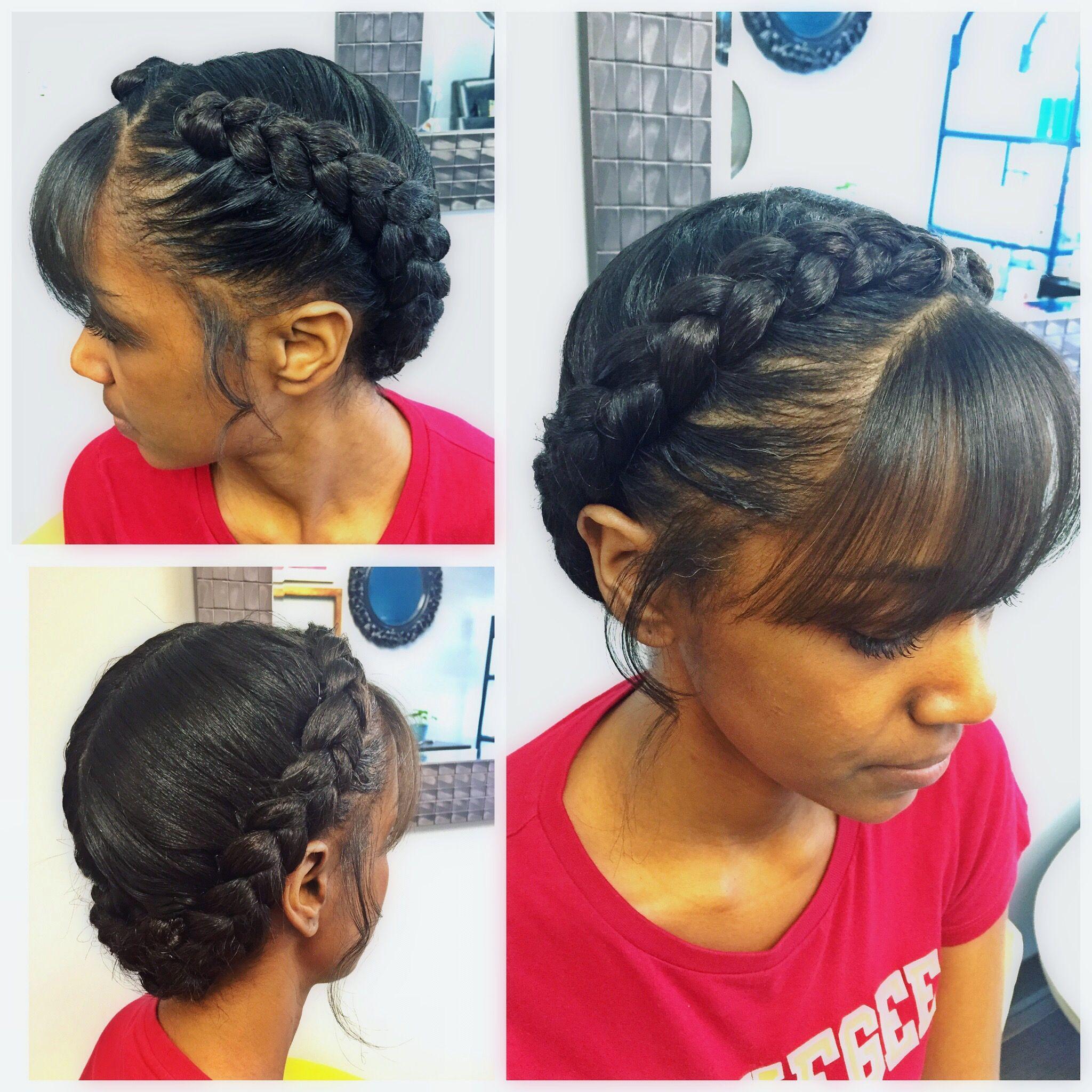 goddess braid.soft and dainty. #shichair | pelo | goddess