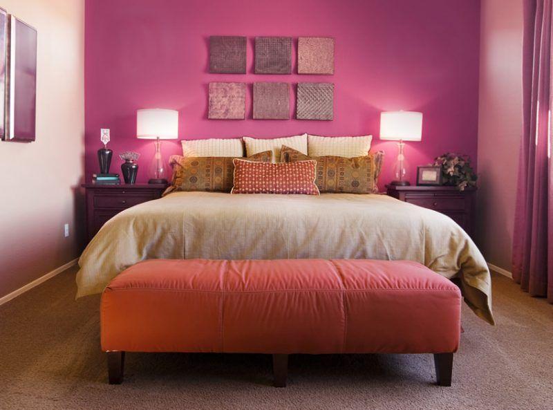 10 Romantic Bedroom Ideas For Couples In Love Archlux Net Best Bedroom Colors Magenta Bedrooms Bedroom Design