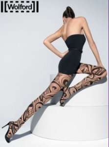 Wolford Paradise Peacock Tights