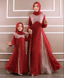 Desain Model Baju Muslim Anak Perempuan Gamis Pinterest Hijab