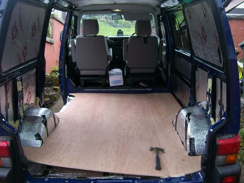 vw t4 fitting sub floor aa van dwelling t4 camper vw. Black Bedroom Furniture Sets. Home Design Ideas