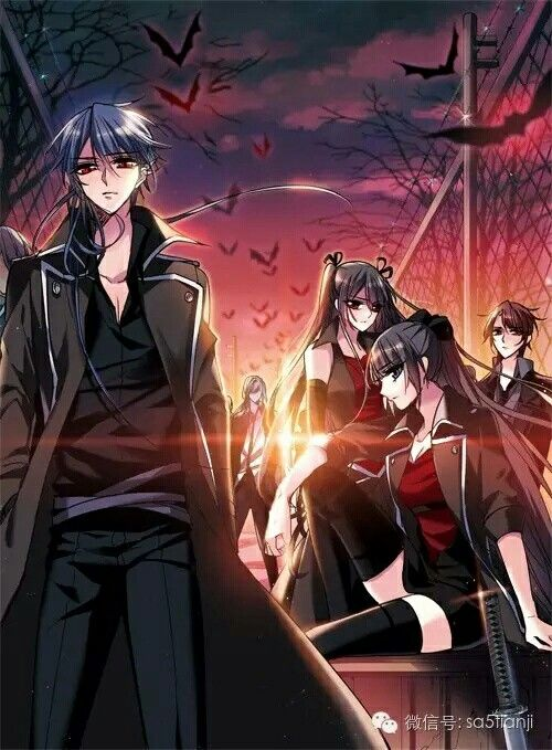 Anime Characters Vampire : Vampire sphere art pinterest anime manga and