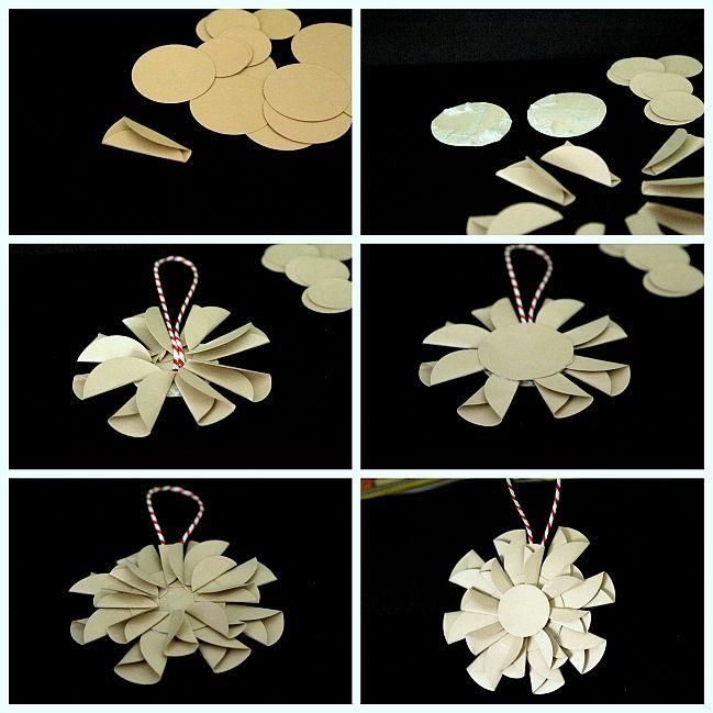 Handmade Christmas Decoration [star-flower] Tutorial