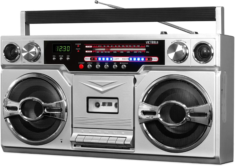 90 S Music Boomboxes Google Search Wireless Streaming Boombox Cassette Player