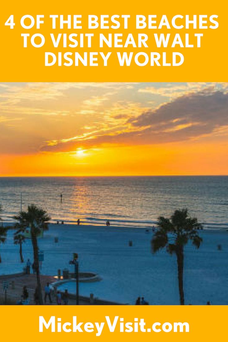 Four of the Best Beaches Near Walt Disney World: Mickey ...