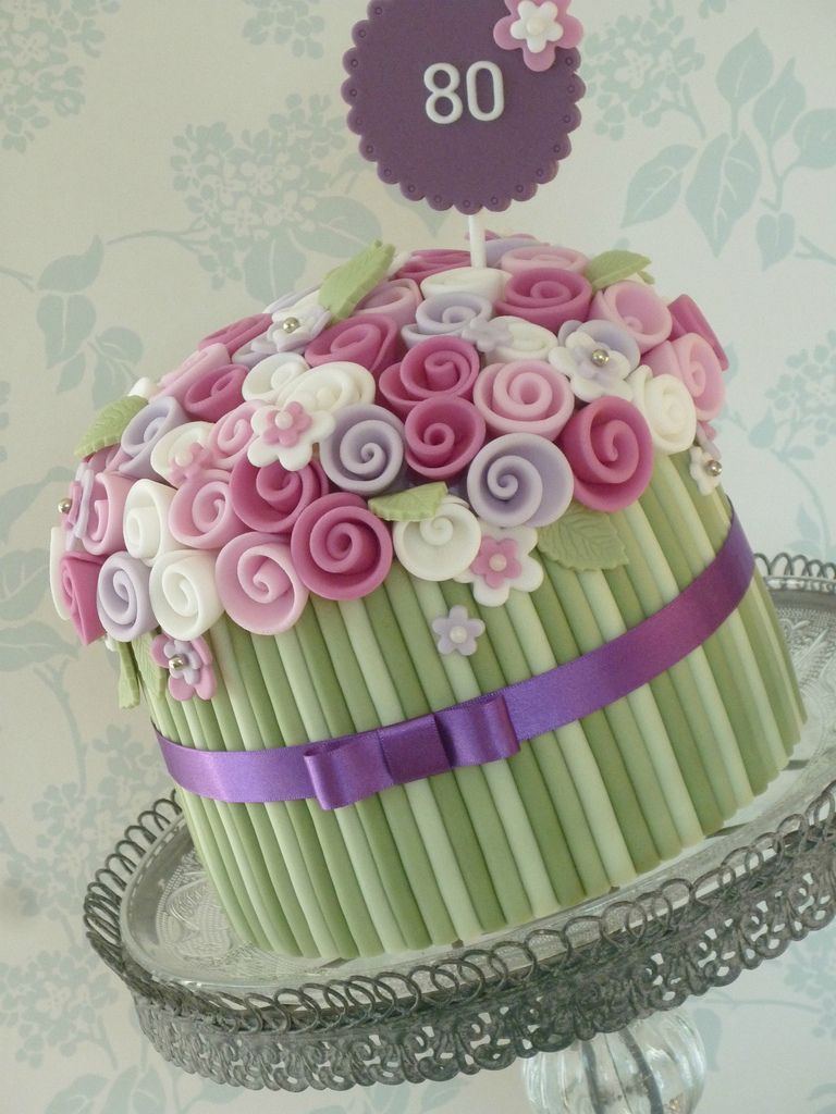 Buttercream bouquet cake Find more here