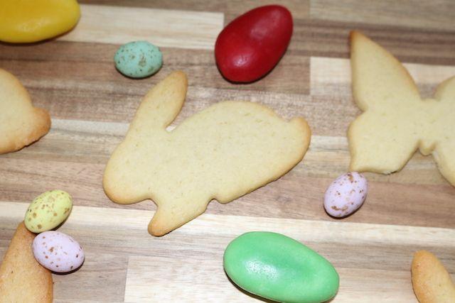 Cut-out-cookies, auch an Ostern lecker