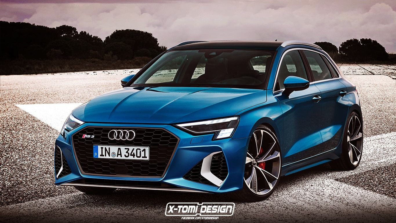 2021 Audi Rs3 Sportback Render Shows The Latest A3 At Its Most Angry Carscoops Audi Rs3 Rs3 Sportback 2020 Audi