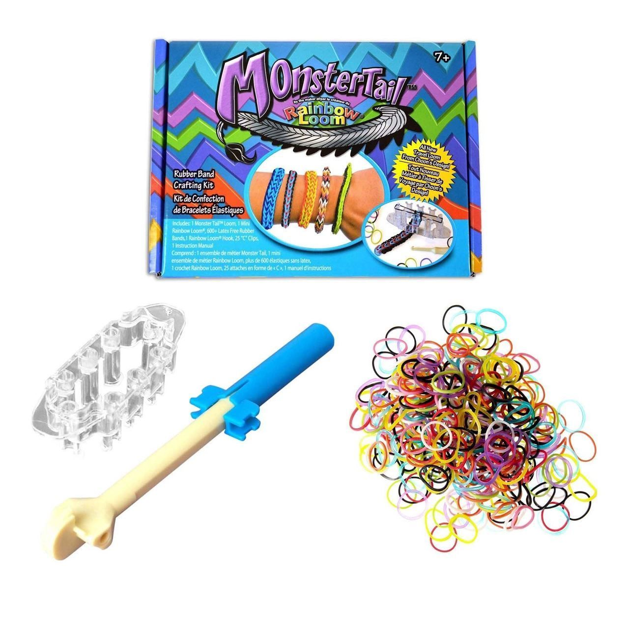 The Official Rainbow Loom Monster Tail Kit, £12.99