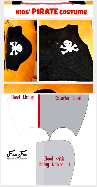Last-Minute Diy Pirate Costume Easy Homemade Pirate Costume Last-Minute Diy Pi...