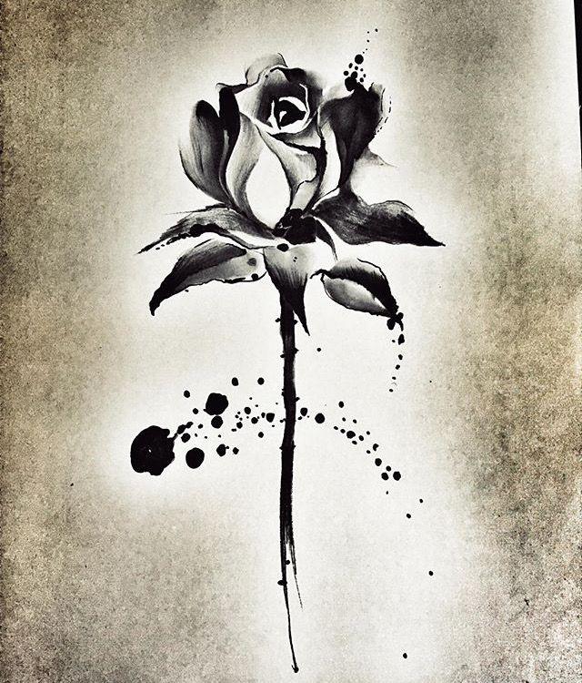 Imagen De Myrian Granados Rueda En Tatuajes Tatuajes De Rosas Rosas Negras Tatuajes Raros