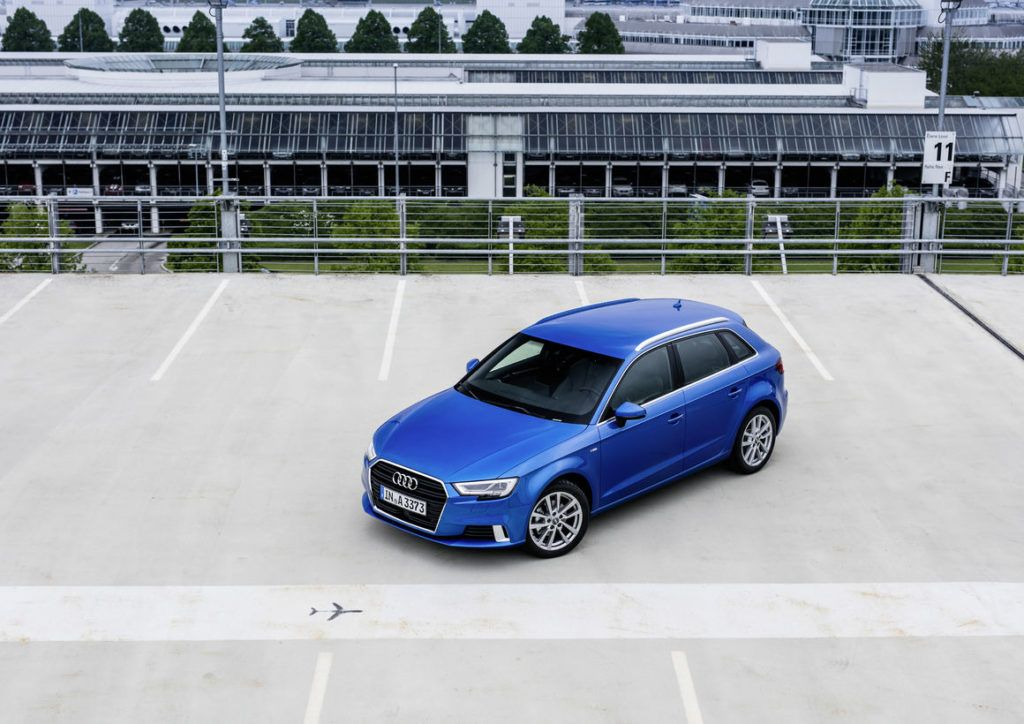 Renewed 2017 Audi A3 first time with threecylinder engine