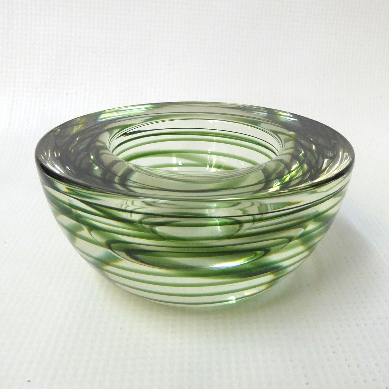 Kosta Boda Atoll votive/tea light candle holder/small bowl ...