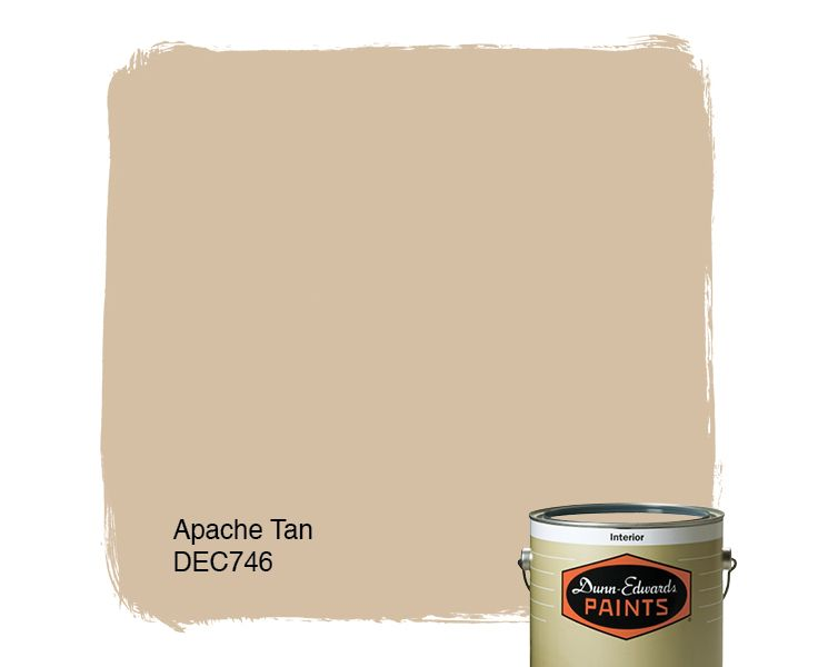 Dunn edwards paints paint color apache tan dec746 click for Most popular tan paint color