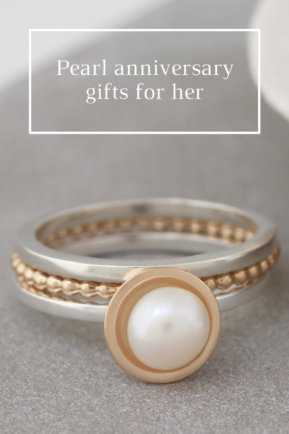 Pearl 30th Wedding Anniversary Gifts For Her in 2020
