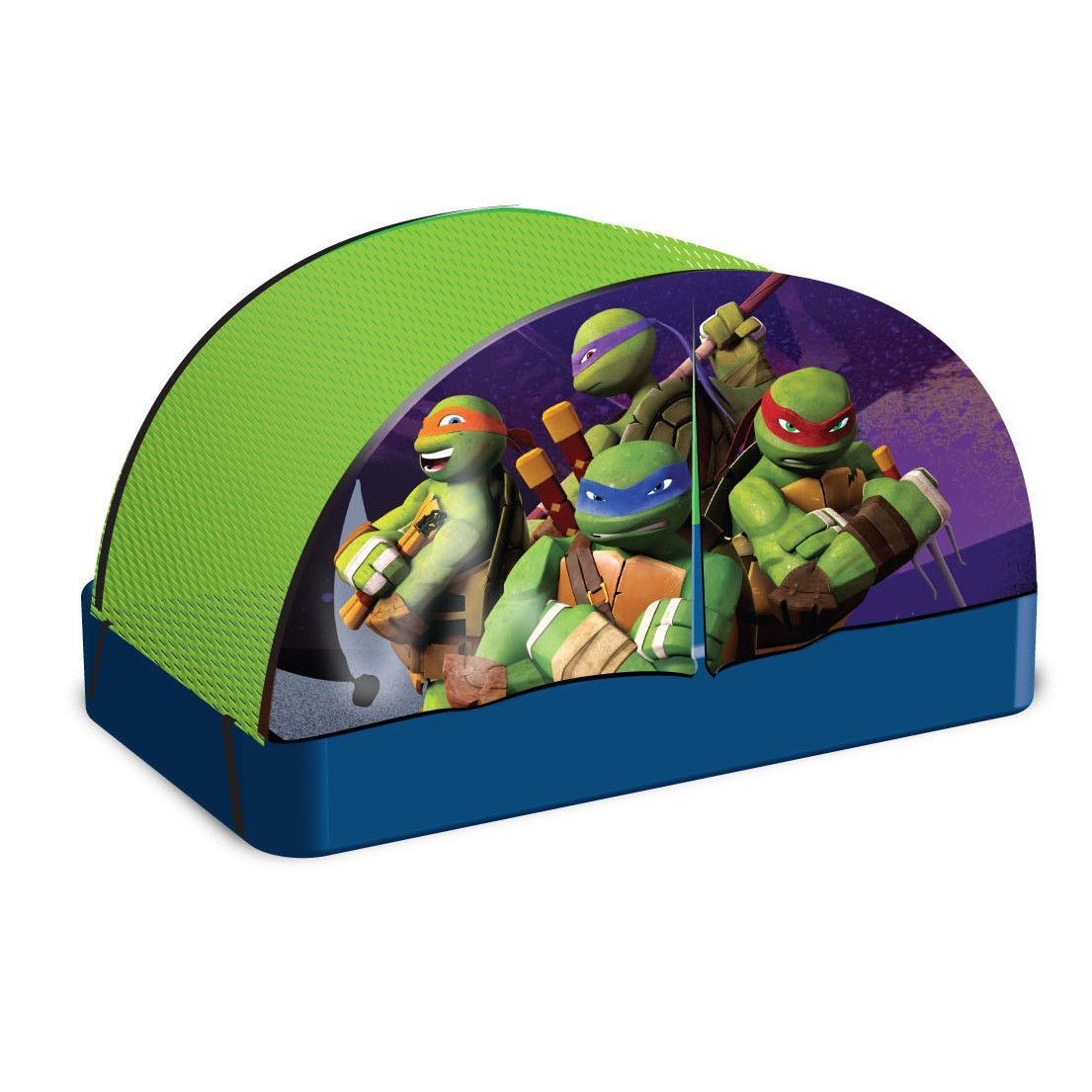 Found it at Wayfair - Teenage Mutant Nija Turtles Children Bed Play Tent  sc 1 st  Pinterest & Teenage Mutant Ninja Turtles Fabric Childu0027s Bed Tent | Ninja ...
