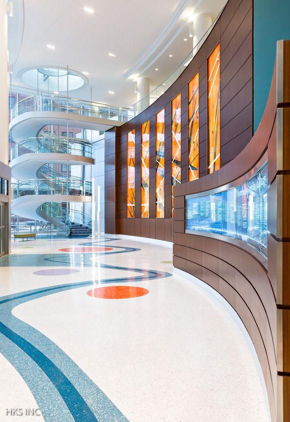 Benjamin Russell Hospital For Children. Photo: HKS Inc ...