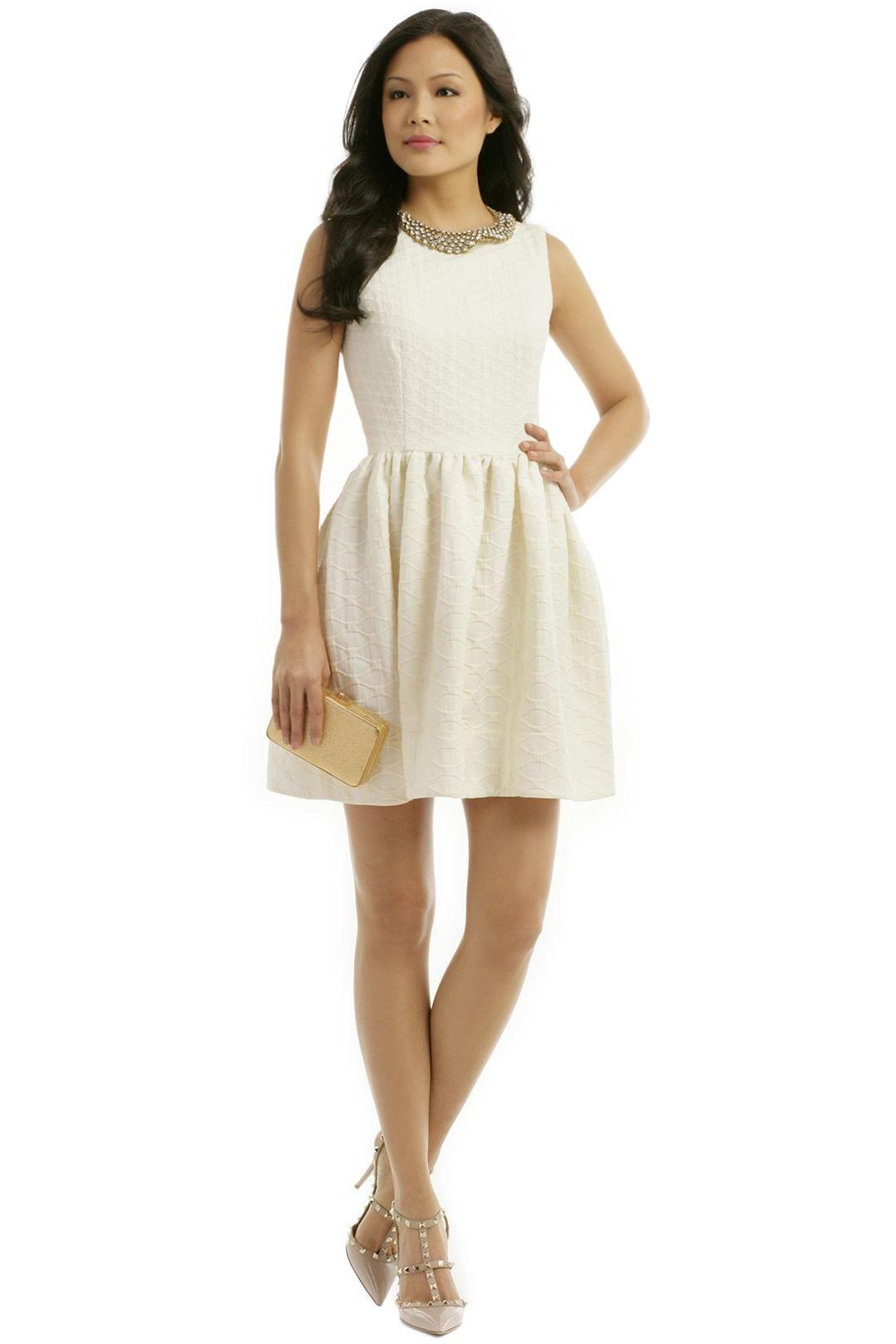 Rent designer wedding dress  RED Valentino Scarletta Dress  White Hot  Pinterest  Valentino
