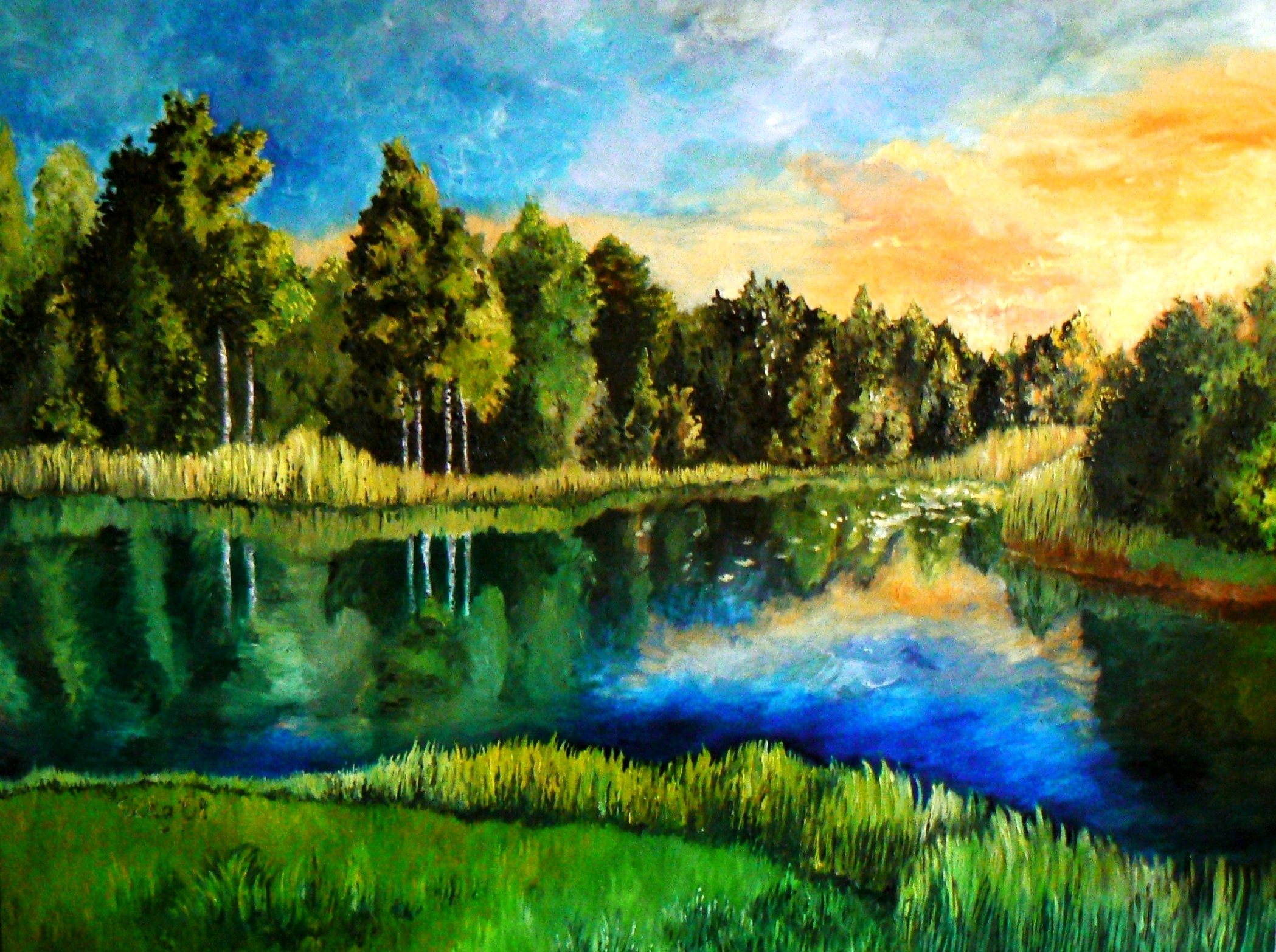 Image result for creative landscape painting   Art Inspiration ...