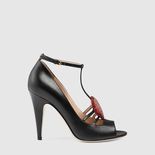 molto carino 743fb 8867c 1250 Gucci Molina leather pump   Jamil   Leather pumps ...