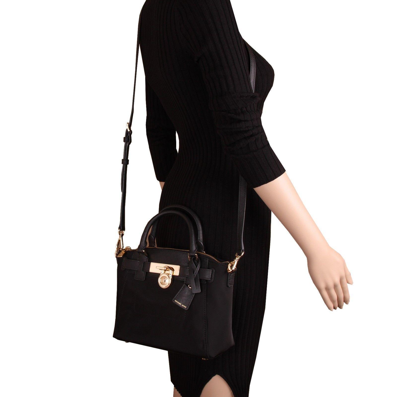 d19757a0ca5017 99.50   NWT Michael Kors HAMILTON Nylon Medium Top Zip Messenger Crossbody  Bag ❤ #