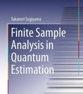 Finite Sample Analysis In Quantum Estimation PDF Physics Pinterest - sample analysis