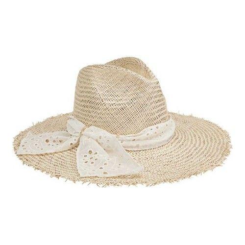 7245c791b907de Women's San Diego Hat Company Palm Fiber Fedora with Eyelet Scarf Trim  SPS1003 Hats