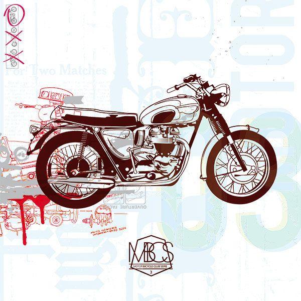 MOTOR BICYCLE CLUB SERIE by BAUDOUX Emmanuel, via Behance