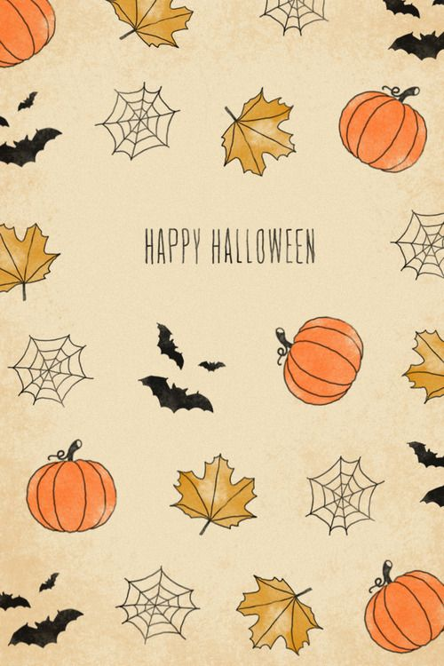 October 2018 Halloween iPhone Wallpaper #octoberwallpaperiphone