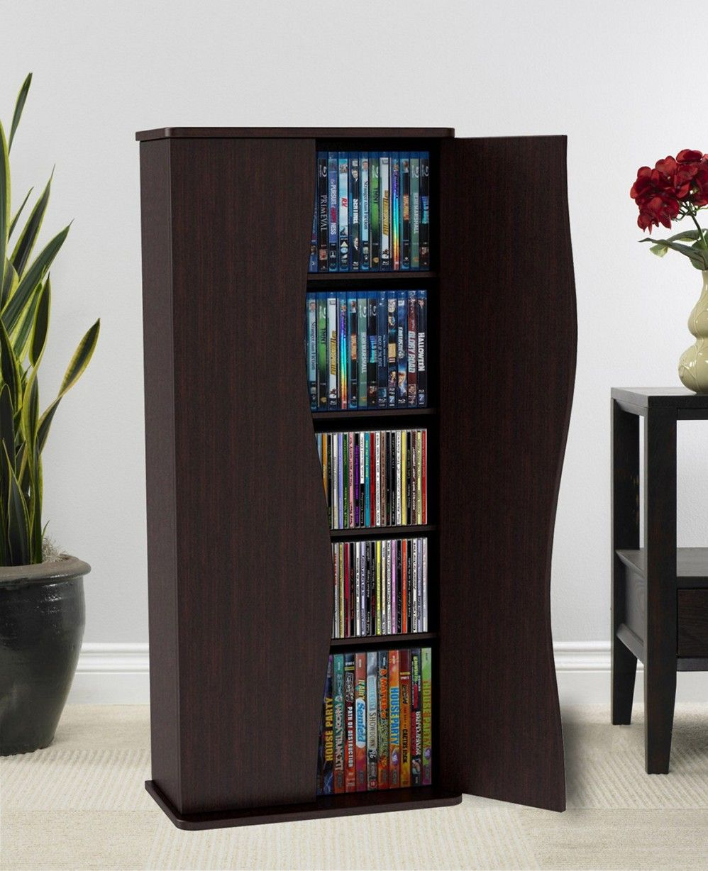 Have Too Many Dvds Try These Clever Dvd Storage Ideas For Solutions Dvd Storage Cabinet Diy Dvd Storage Dvd Storage