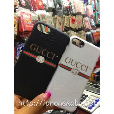 official photos e77b4 8a3ce アイフォン8ケース GUCCIお揃いカバー iphone8ケース 革貼り ...