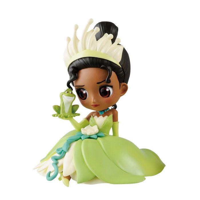 Disney Q Posket Petit Mini Figure Volume 2 - Tiana  #disney #minifigure #theprincessandthefrog #tiana