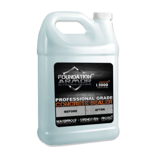 The Armor L3000 Concrete Sealer Is The World S First Lithium Silicate Based Concrete Sealer That Has Been Chemically Enhanced T Concrete Sealer Concrete Sealer