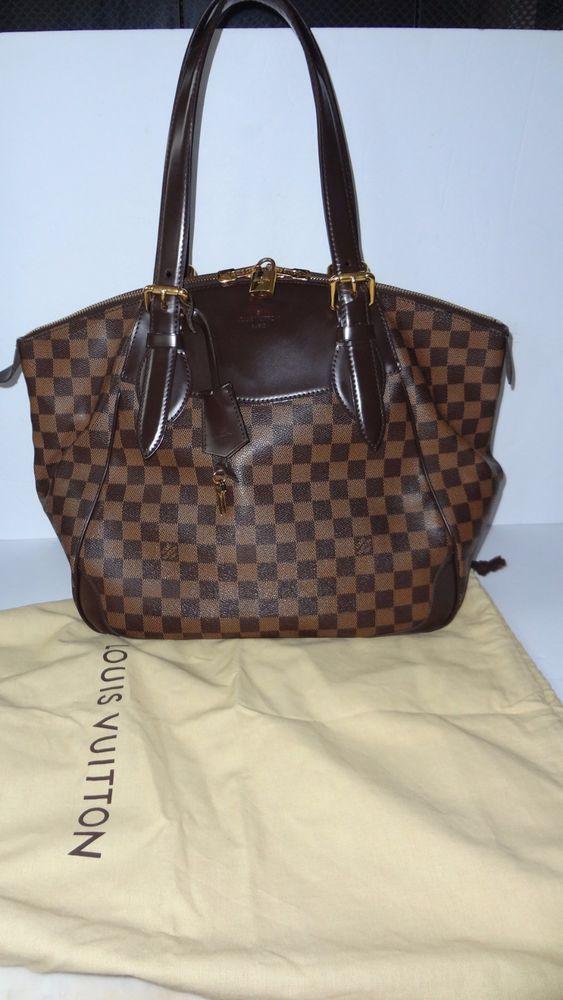 Authentic Louis Vuitton Verona Gm 1900 W Dustbag Excellent Bag Handbag Louisvuitton