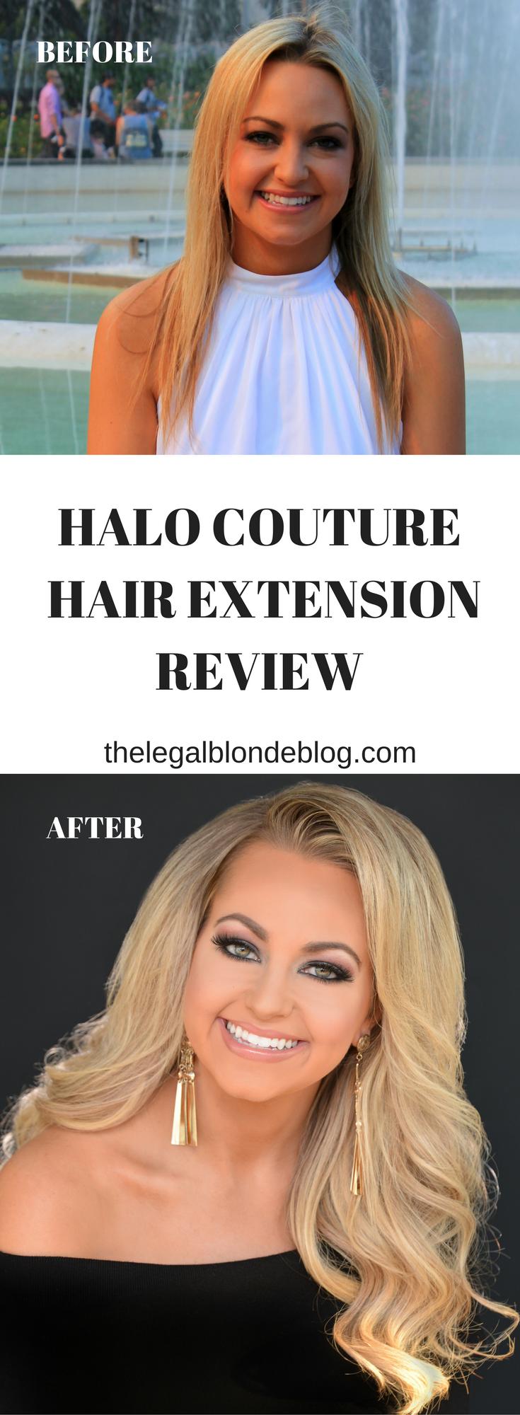 Halo Couture Hair Extension Review The Legal Blonde Blog