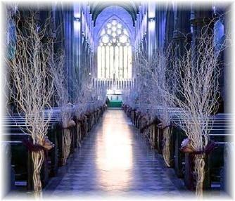 Church Pew Wedding Decorations Ideas | ... Church Wedding! These Decorative  Touches Make