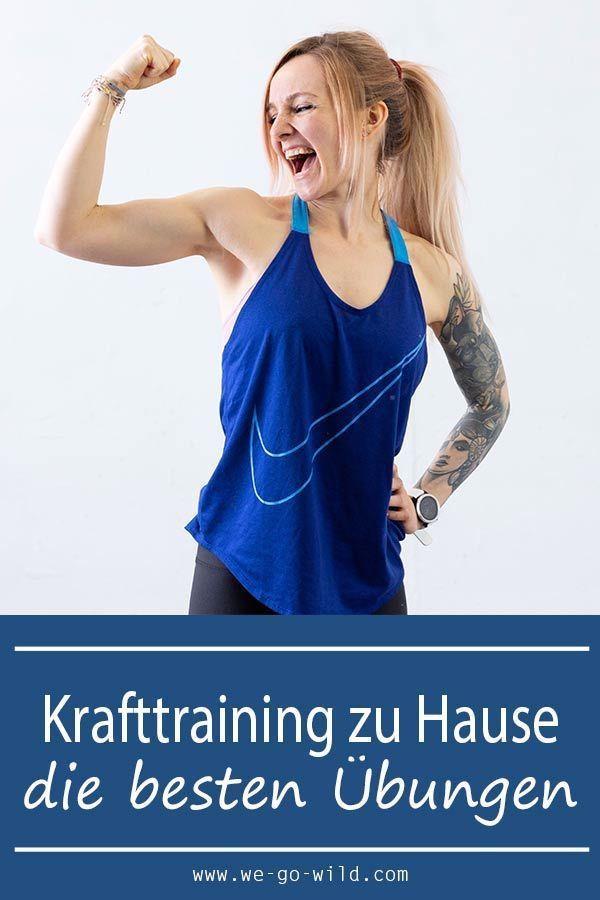 Muskeln aufbauen im Wohnzimmer? Das klappt mit diesen Übungen für zuhause ganz einfach! Starte jetzt...