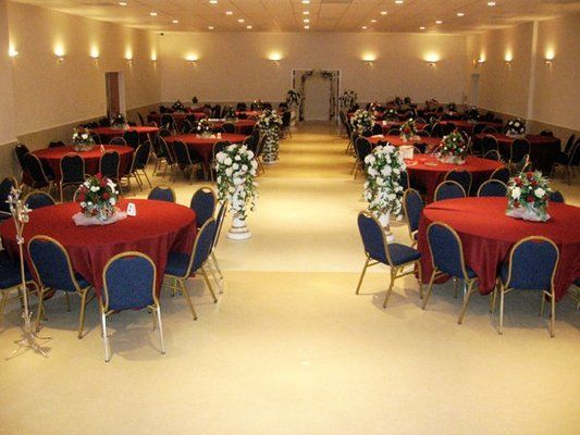 Combined Wedding Ceremony & Reception Set Ups