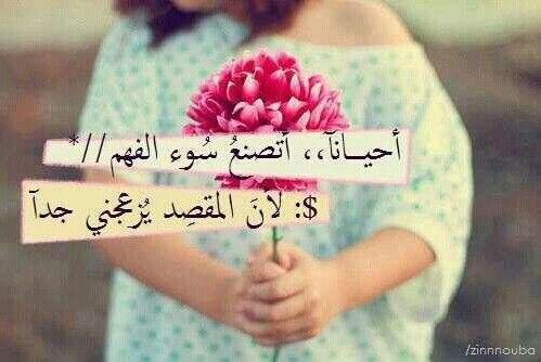 أتصنع سوء الفهم حقيقه Arabic Words Words Quotes