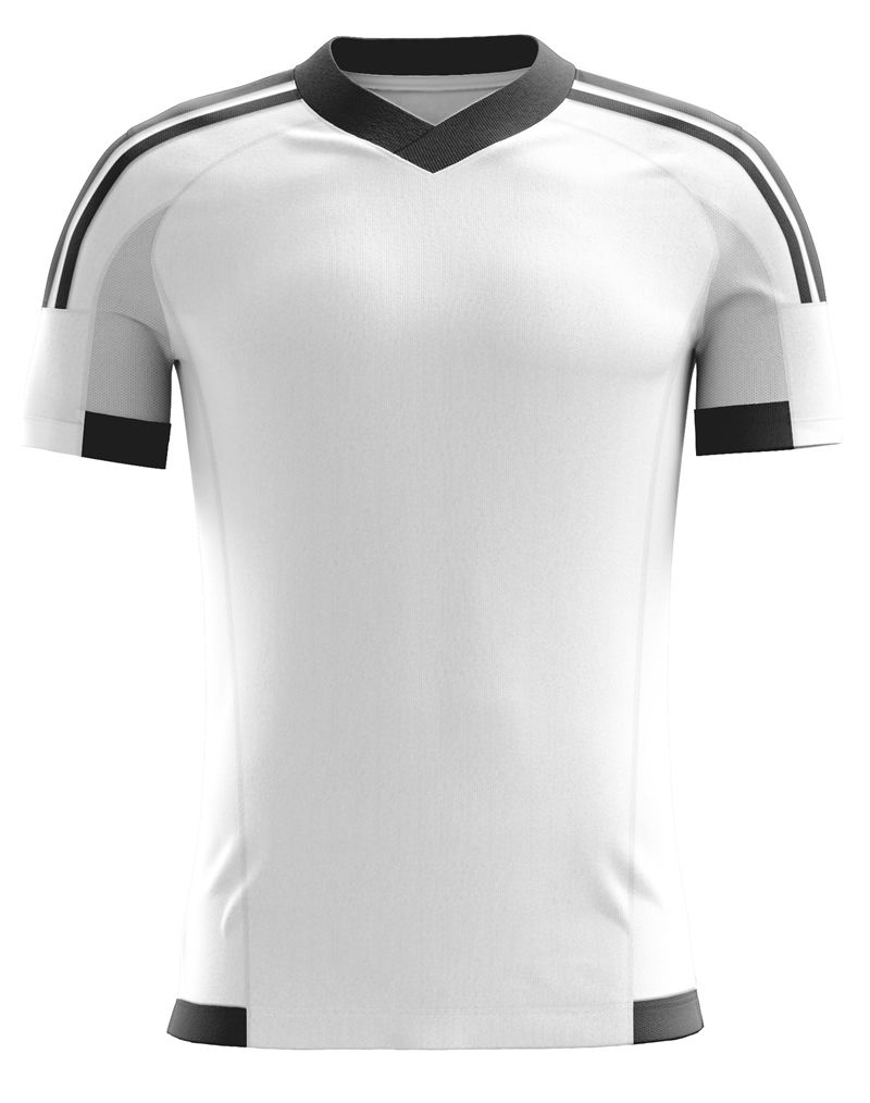 check out d575e c3bce White Soccer Jersey Blank, Clean! Check it out here at www ...