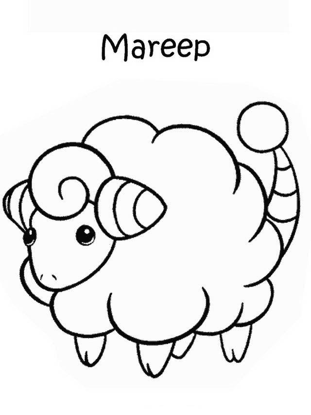 Desenhos para pintar Pokemon 11