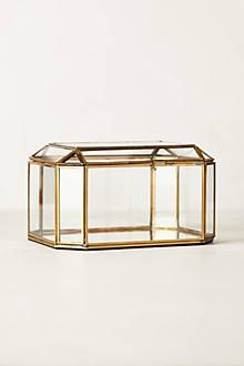 Gilded gold jewelry box perfect chic christmas gift OBSESSED